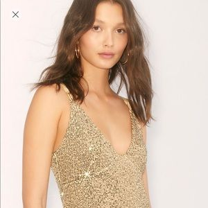 ⚡️ FREE PEOPLE SEQUIN DRESS XS⚡️